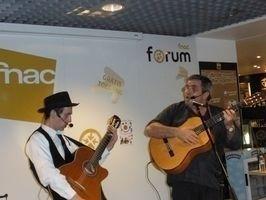 Répétition du spectacle : Xavier Padelou et Banjo