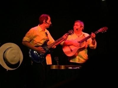 Spectacle à Avignon : Xavier Padelou et Banjo