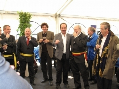 Inauguration du salon 2009