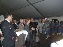 Inauguration du salon 2008